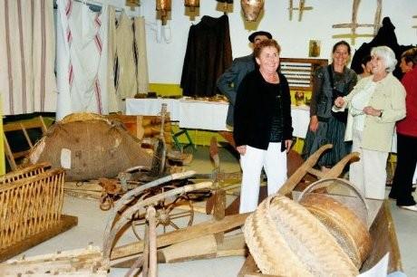 L'association Pierrine-Gaston-Sacaze rassemble objets et outils anciens. Pour mieux restituer le passé du village. PHOTO J. T.