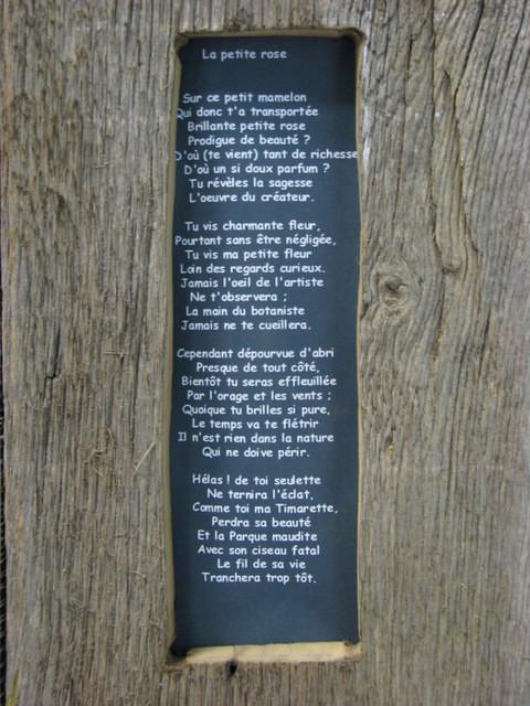 Poème écrit par Pierrine Gaston-Sacaze