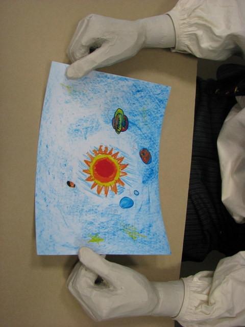 Le schéma du système solaire