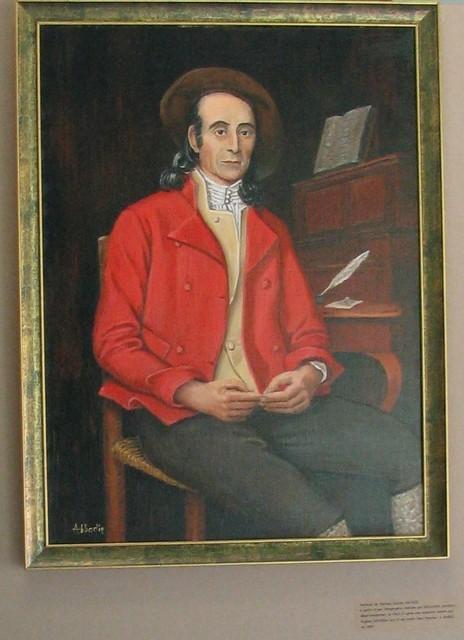 Portrait de Pierrine gasto-Sacaze par Jean-Louis Abbadie