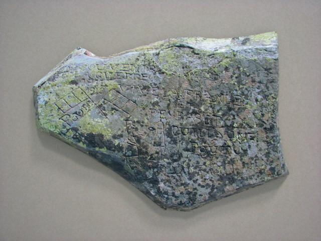 Pierres gravées de la vallée d'Ossau