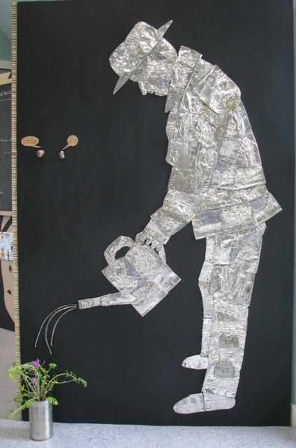 Le jardinier, d'apès une idée de Jean-louis Abbadie