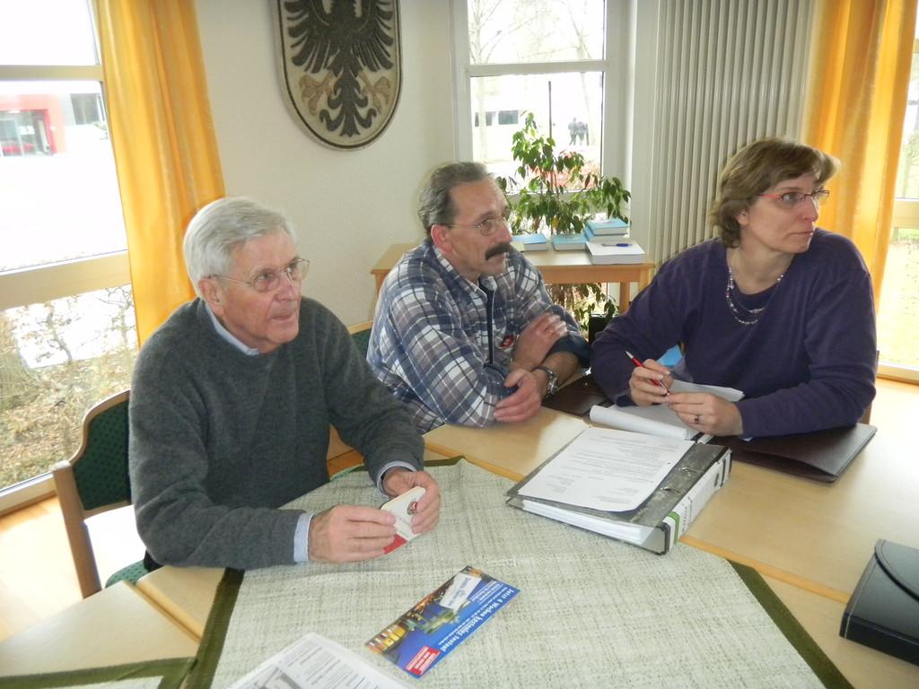 Heinz Bartschies + Michael und Heidi Mader
