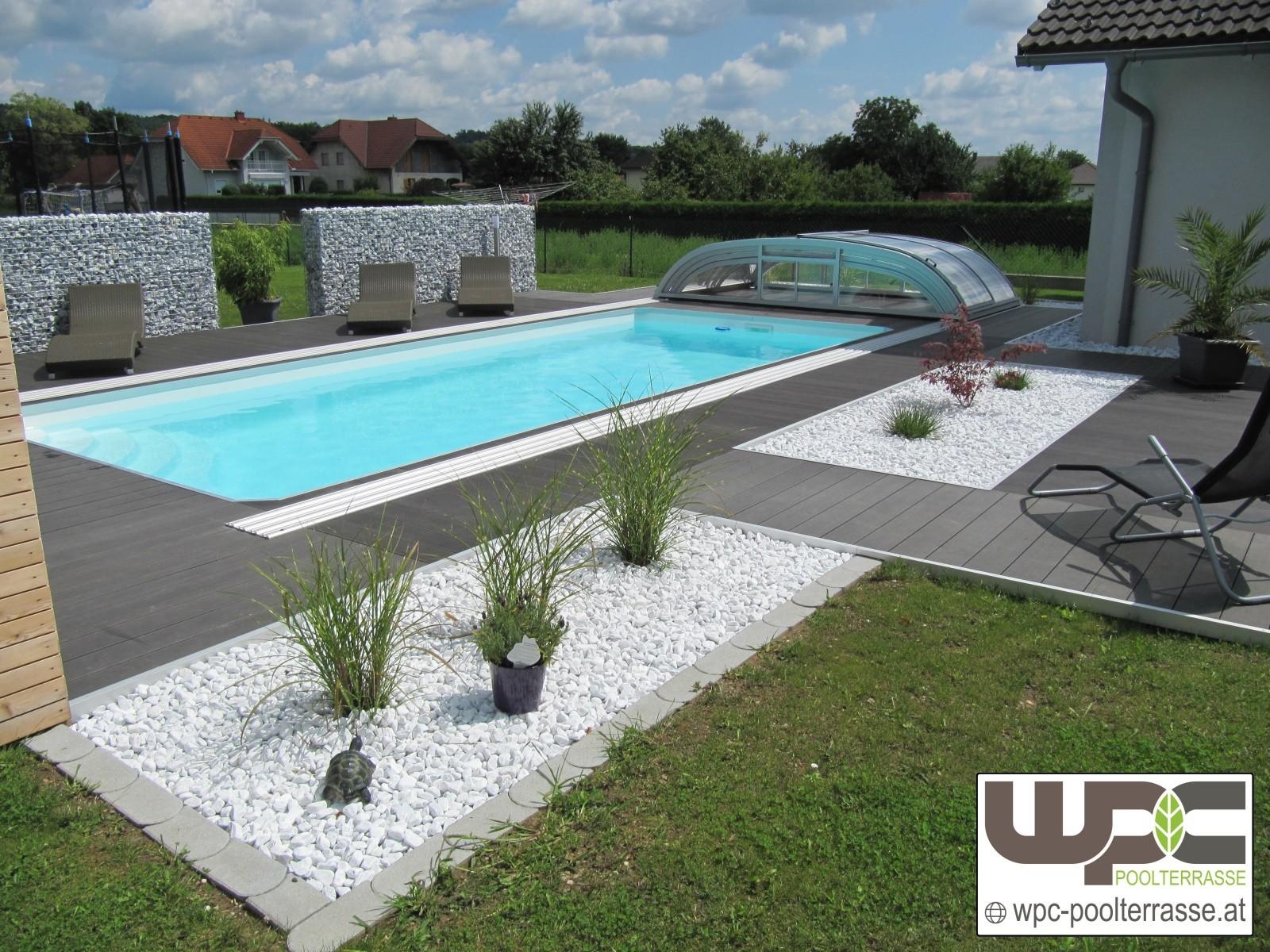 Wpc Poolterrasse Bambus Bpc Wpc Terrassendielen Wpc Dielen