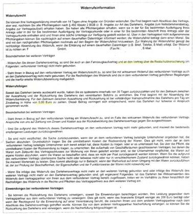 Widerrufsbelehrung Muster Anwalt Kg 6