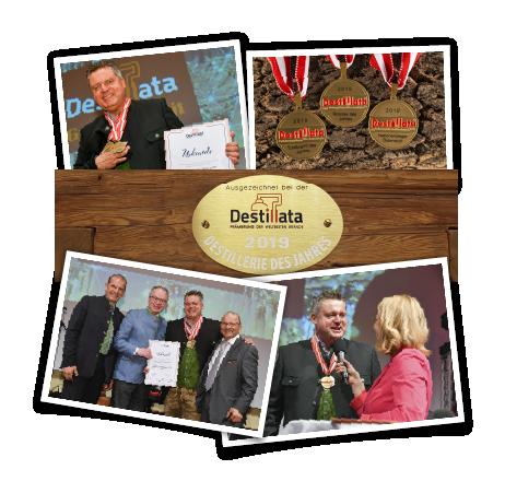 Auszeichnungen Destillata, Destillerie des Jahres 2019, Edgar Wernbacher