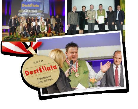 Auszeichnungen Destillata, Edelbrand des Jahres 2018, Edgar Wernbacher