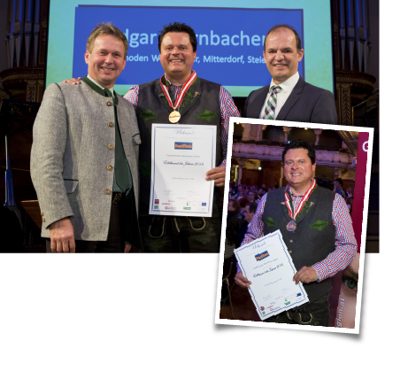 Edgar Wernbacher mit Auszeichnung bei Destillata-Gala 2016