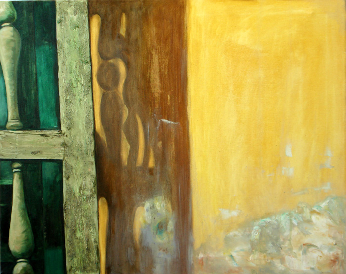 "Retreat Light (Spain-Seville), 24""x28"" / 圣光 (西班牙), 61x71cm, 2008"