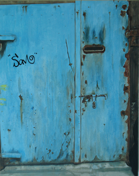 """Sam(Shanghai),Oil on Canvas 30"""" x 40""""/ 莫干山 布面油画 76cm x102cm 2008"""