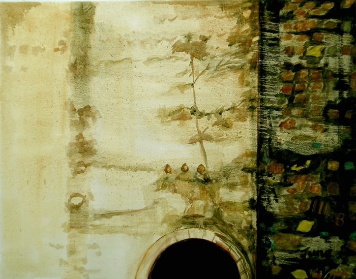 "Retreat Light (Spain-Seville), 24""x28"" / 圣光 (西班牙), 61x71cm, 2008"