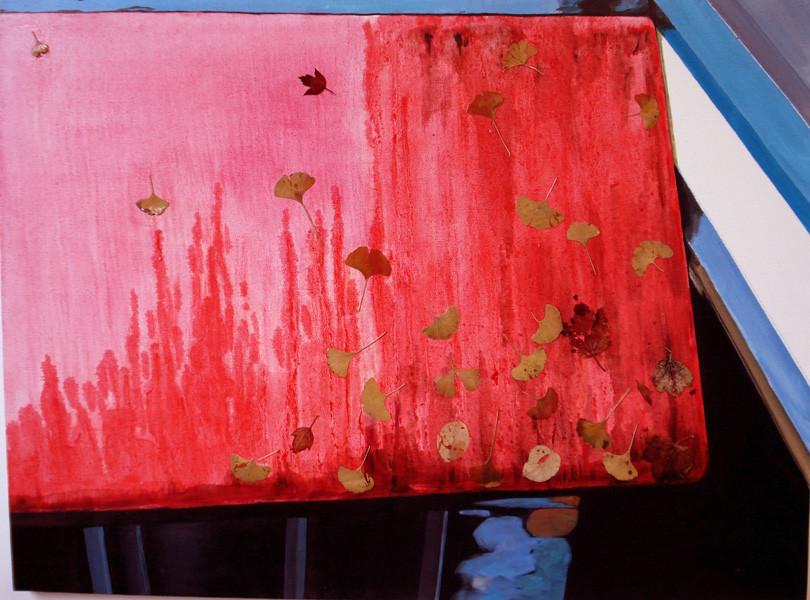 "Fall (Canada-Richmond), 30""x40"" / 秋天 (加拿大-列志文), 76 x102cm  2008"