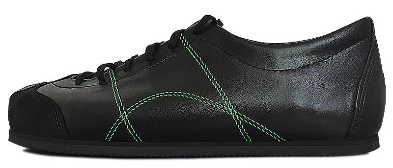Sneadoxx 1962 Black Green Sneaker