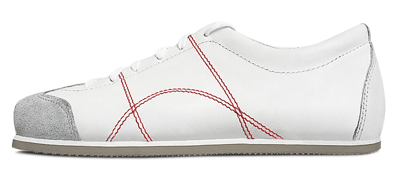 Sneadoxx 1962 White Red Sneaker