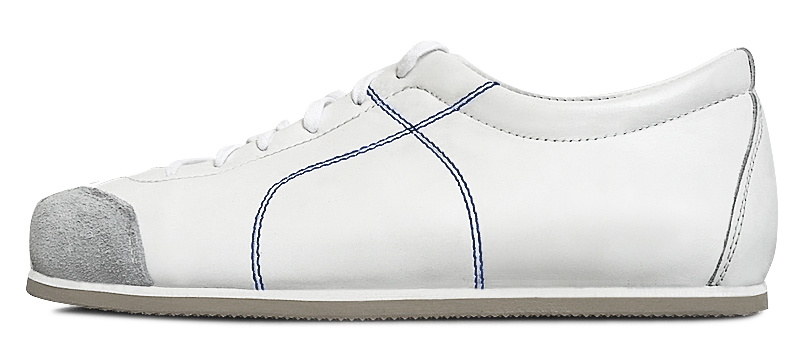 Sneadoxx 1955 White Blue Sneaker