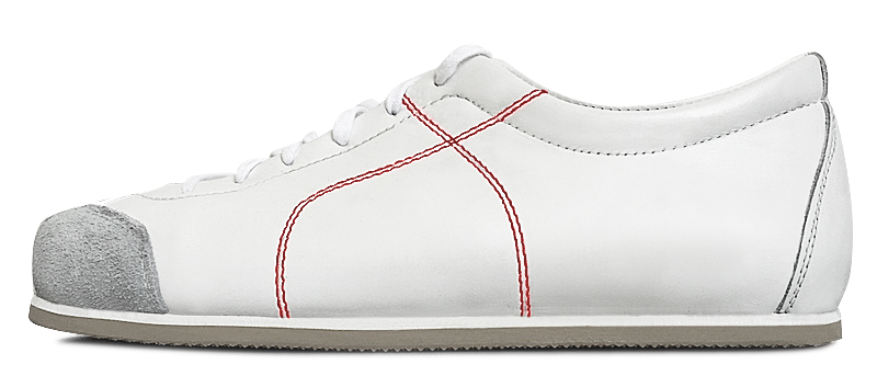 Sneadoxx 1955 White Red Sneaker