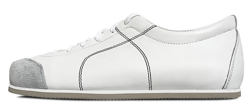 Sneadoxx 1955 White Black Sneaker