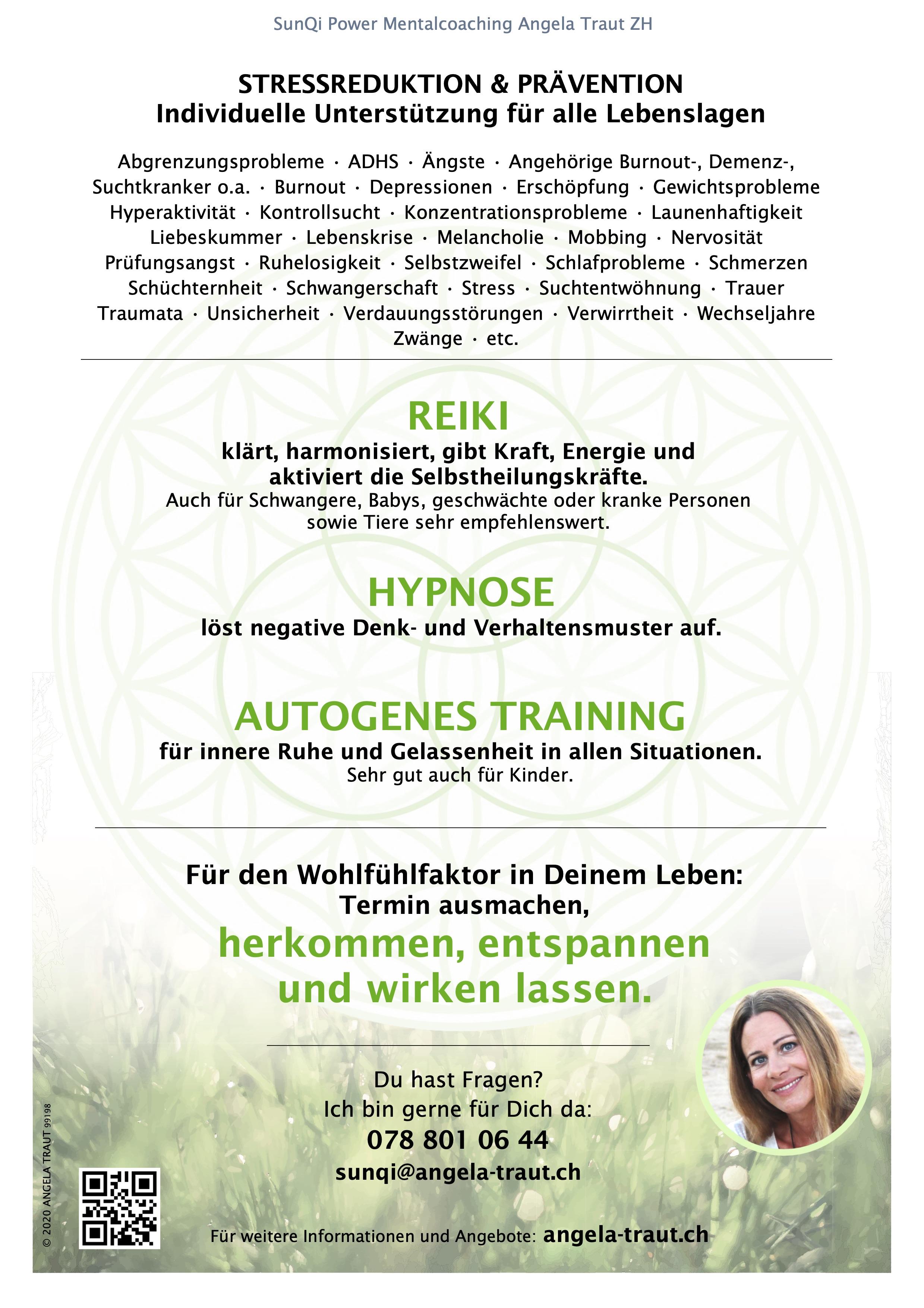 Müde, angespannt, unausgeglichen, kraftlos? #Auftanken # Gleichgewicht #Reiki #AT #Hypnose #AngelaTraut #ChillACTion