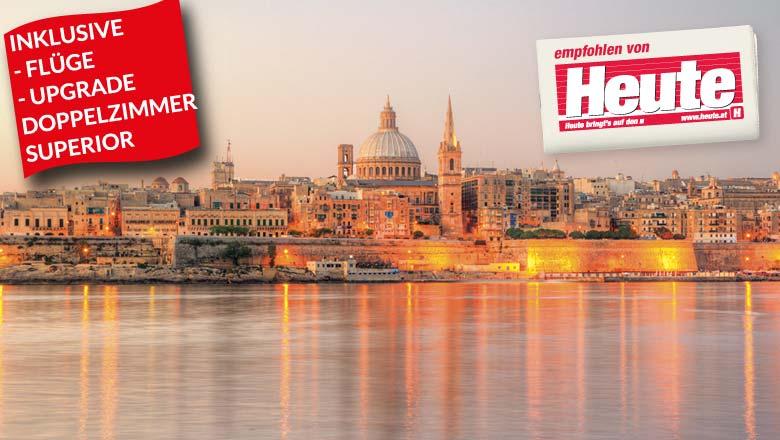 3-5 Nächte Insel Malta inkl. Flüge