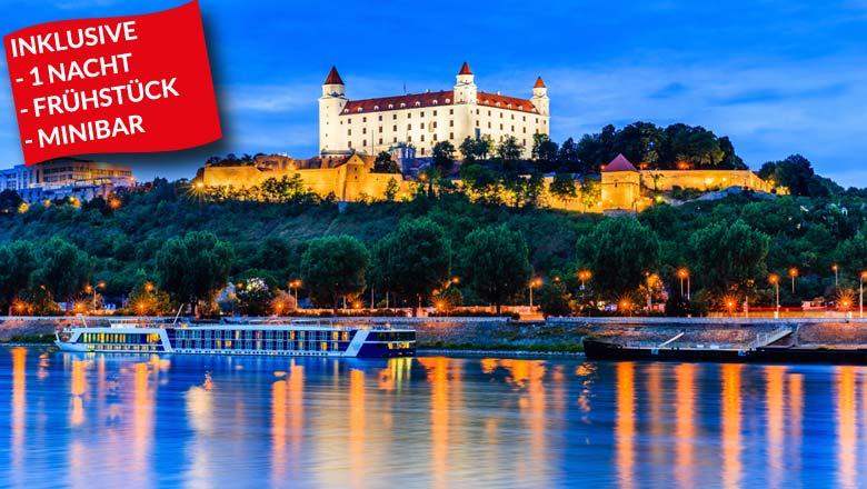 Städtetrip Bratislava nur 49!