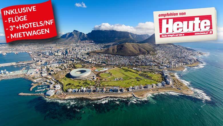Südafrika Kapstadt & Garden Route