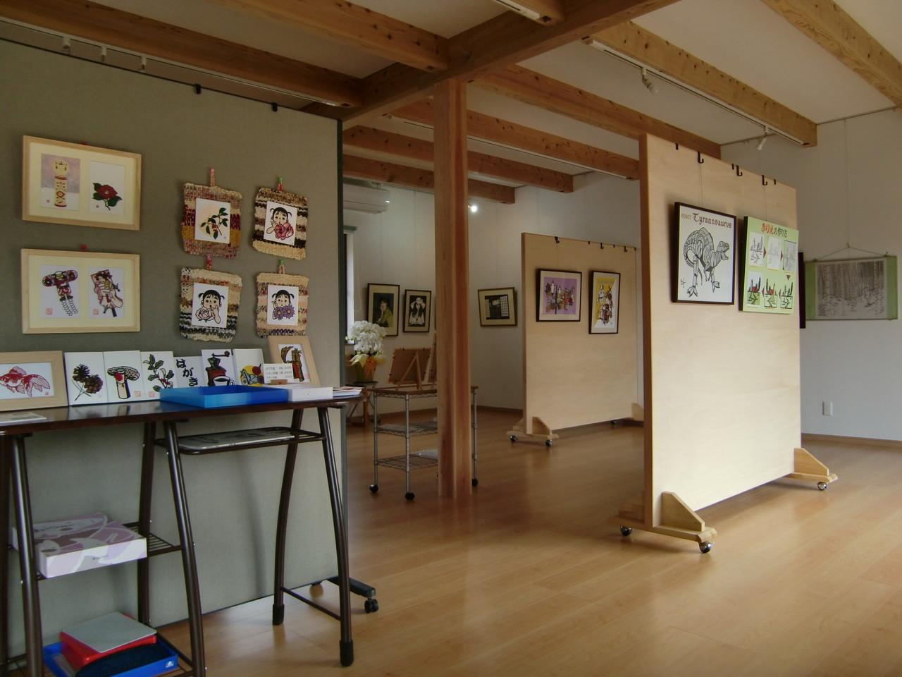 ギャラリーの展示スペース