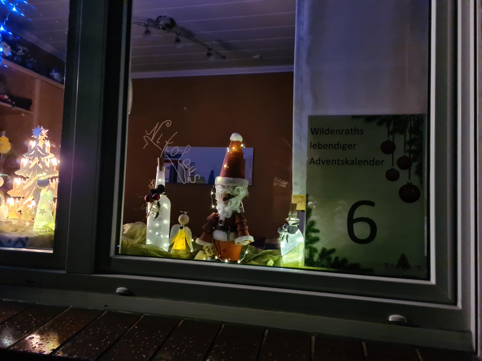 Adventsfenster Nr. 6