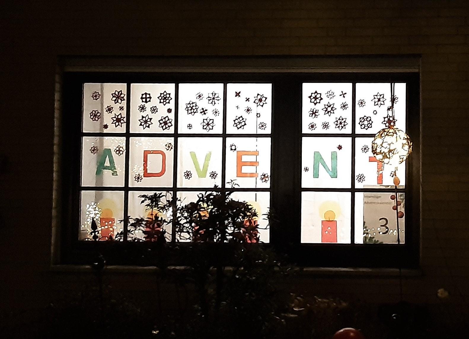 Adventsfenster Nr. 3
