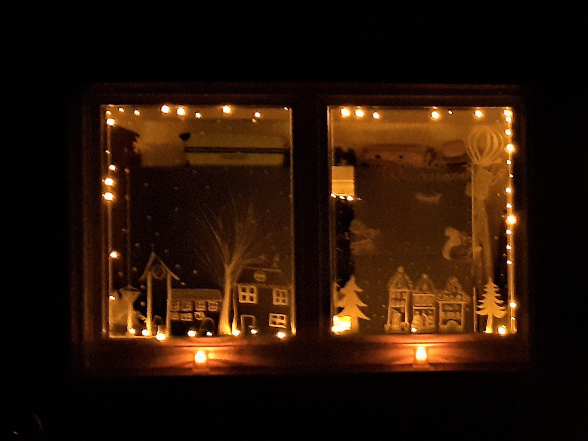 Adventsfenster Nr. 2