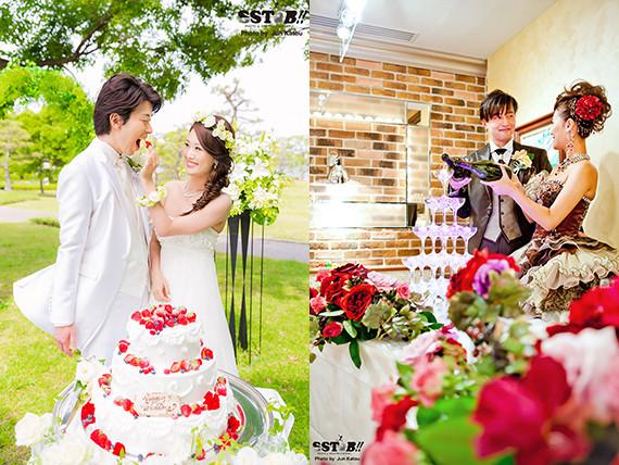 一生の大切な思い出の記憶として、お二人の結婚式を素敵な記録にします!!