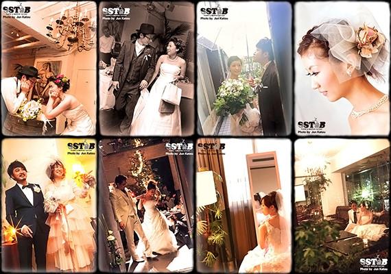 家族婚・結婚お披露目パーティー・食事会などに最適なブライダルスナップ撮影画像