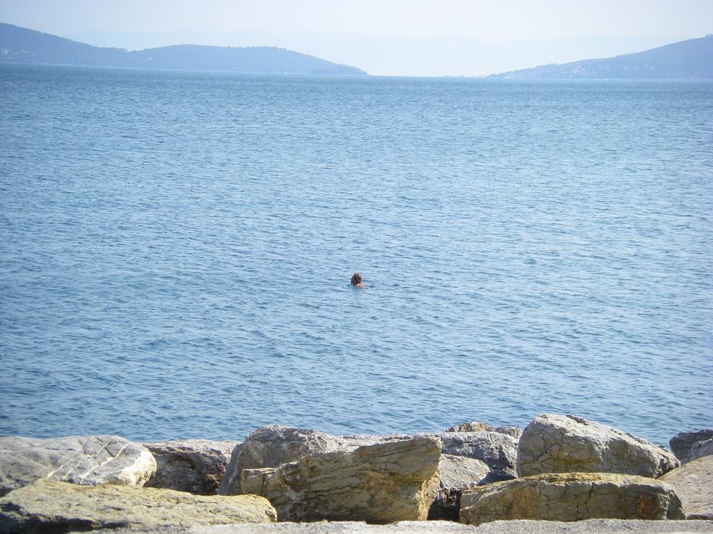 Le dernier bain dans la mer de Marmara.