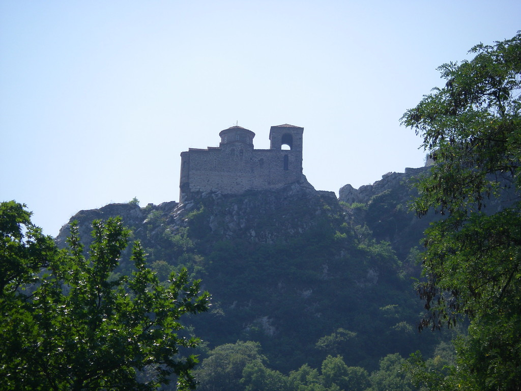 La forteresse d'Acenovgrad.