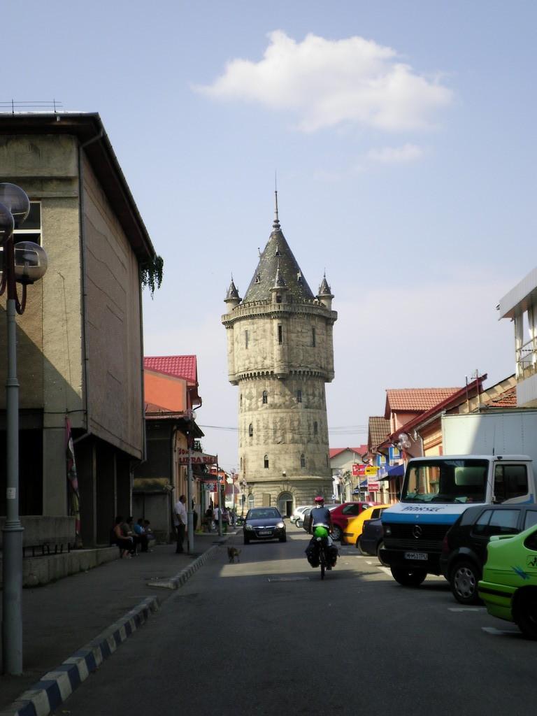 Le château d'eau de Drobeta Turnu Severin.