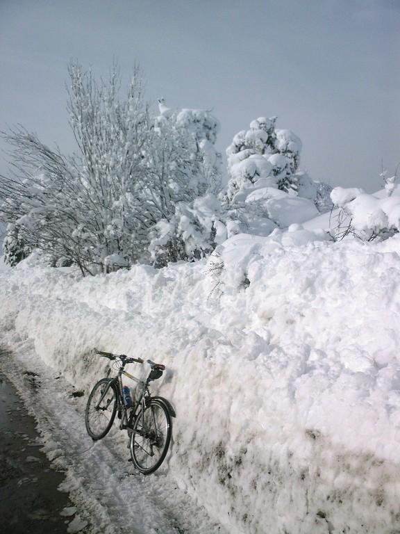 On est bien à 1400 m d'altitude dans les Alpes-Maritimes le 17 décembre !!!!