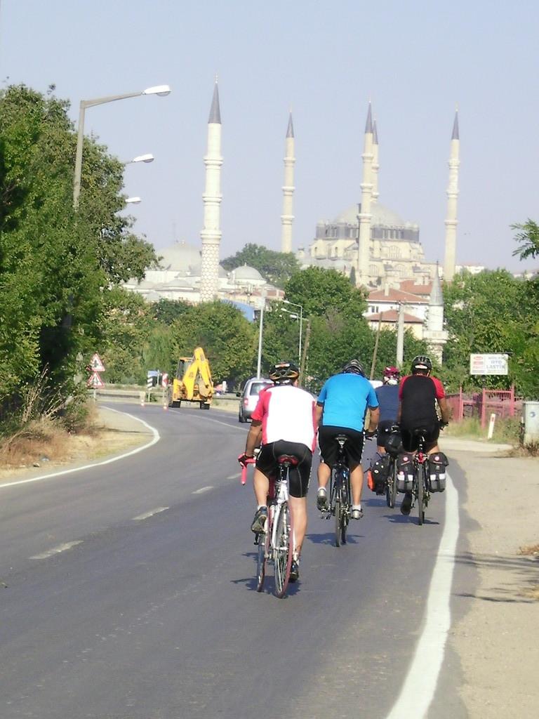 En vue d'Edirne.