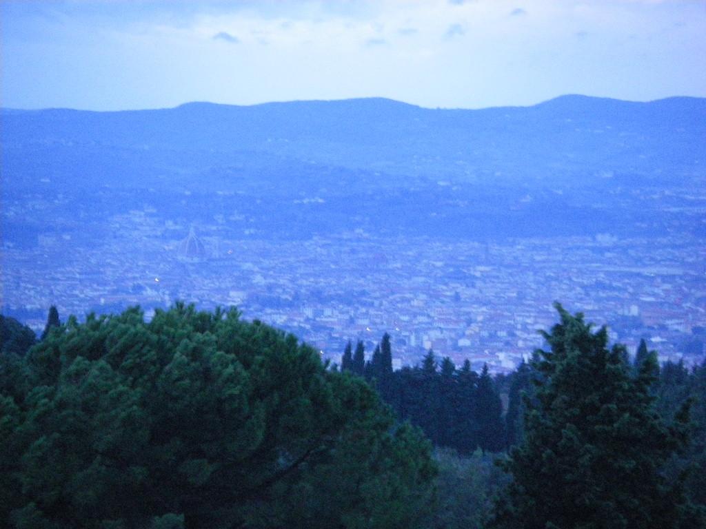 Matin blafard sur Firenze