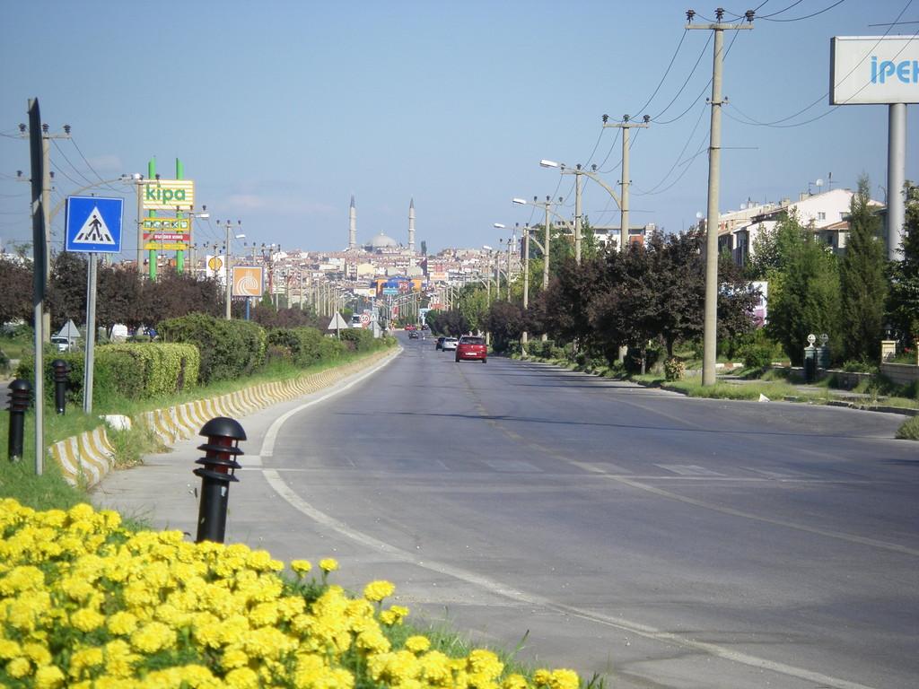Nous quittons Edirne au matin.