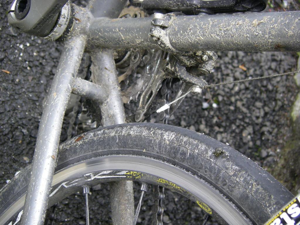 L'état de mon vélo !