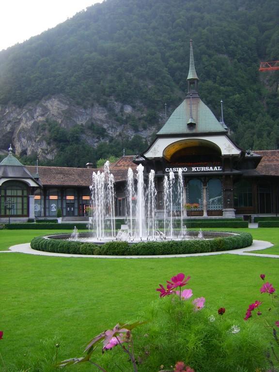 Le casino d'Interlaken. Pas pour nous !
