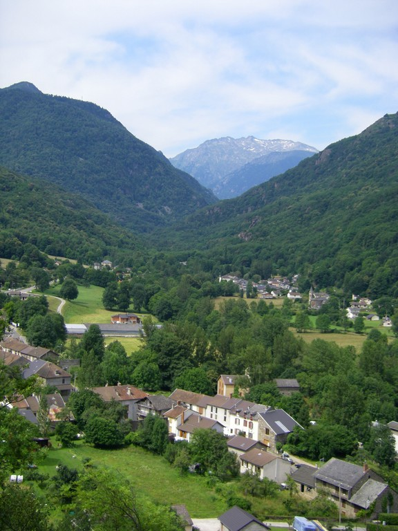 Capoulet et Junac, début du col de Larnat.