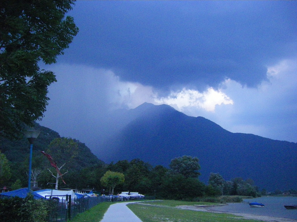 L'orage arrive !