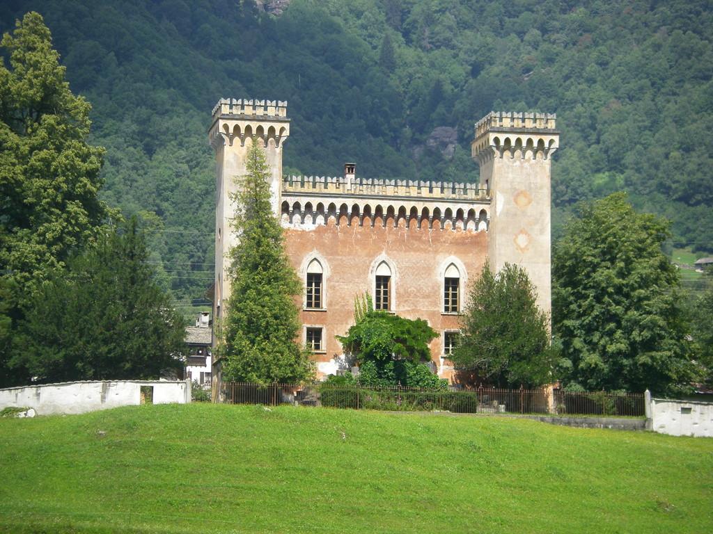 Le palazzo Castelmur de Coltura.