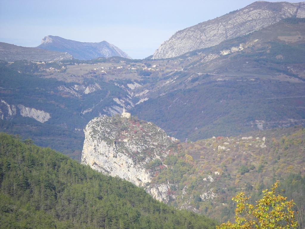 La descente sur Castellane