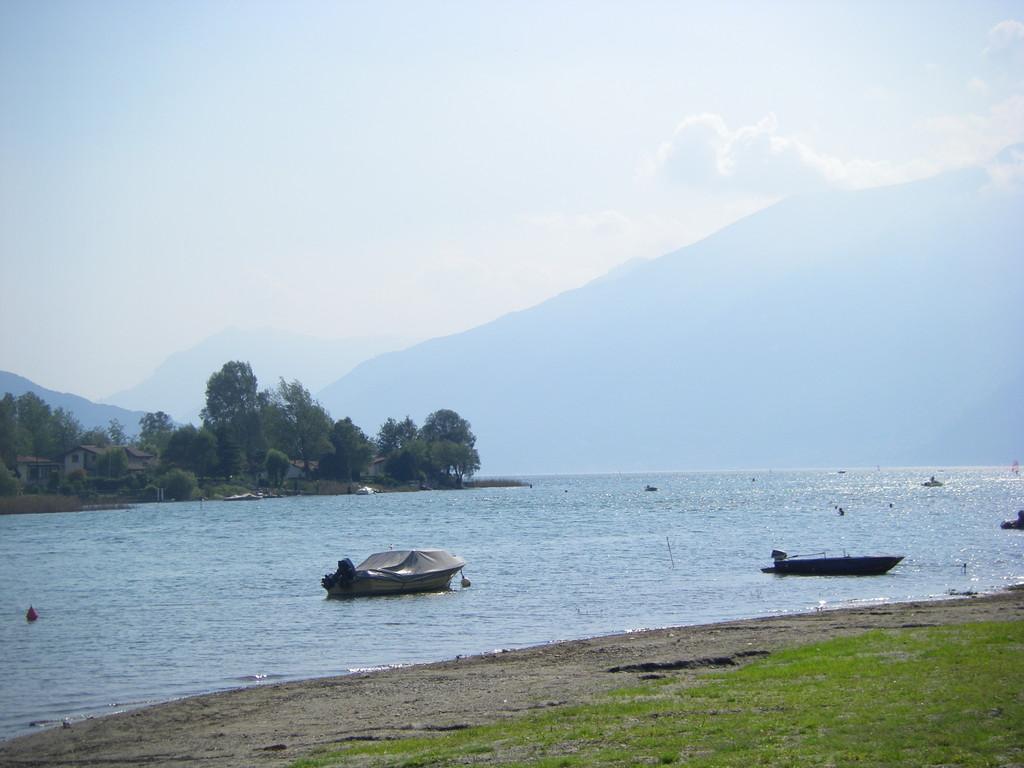 Le lac de Côme à Sorico.