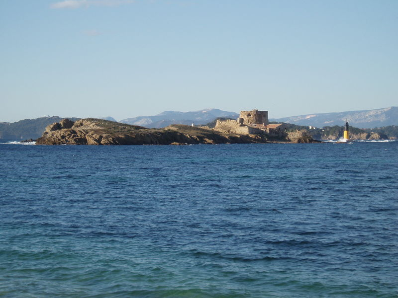 L'île du Petit Langoustier (extrême ouest de l'île).