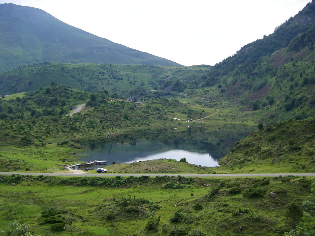 L'étang de Lers.