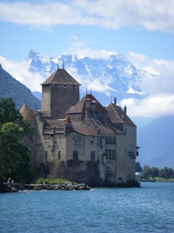Le château de Chillon.
