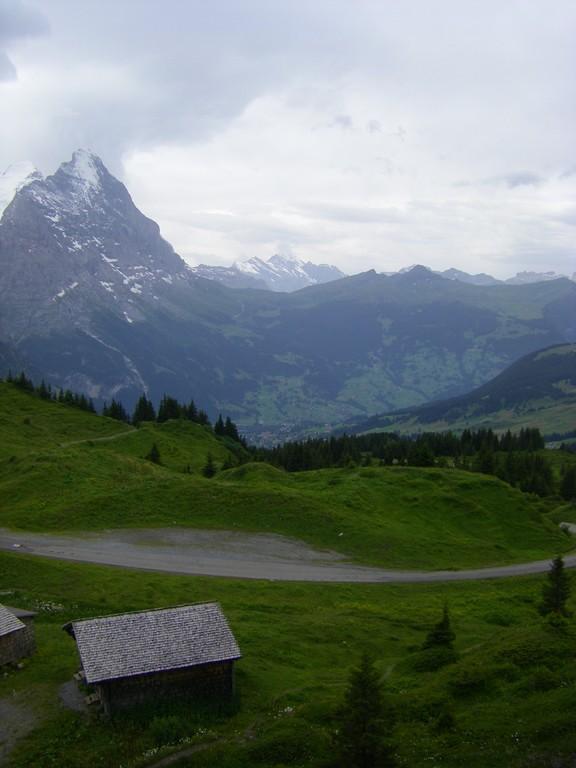 La vallée de Grindelwald.