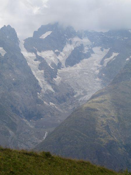 Le glacier de la Meije.